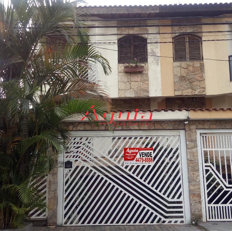 Sobrado Residencial à venda, Parque Erasmo Assunção, Santo André - SO0016.