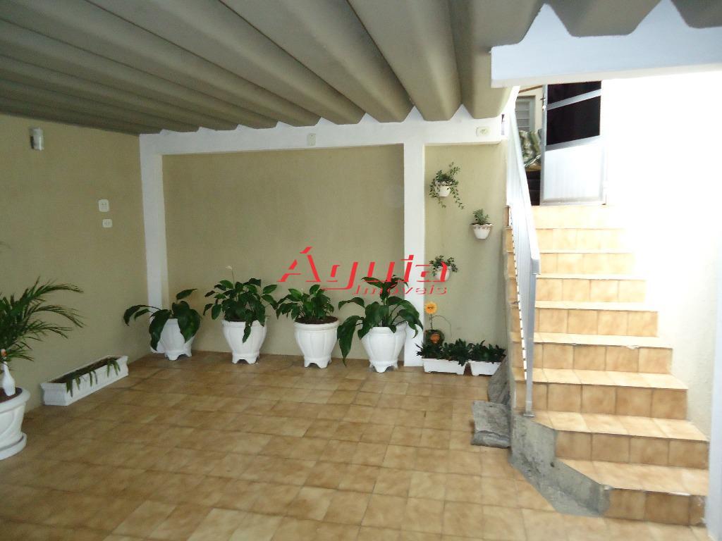 Casa residencial à venda, Jardim Santo Alberto, Santo André.