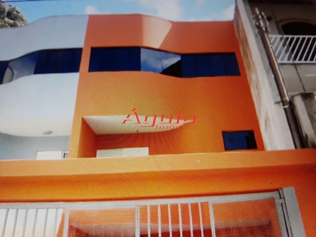 Sobrado residencial à venda, Jardim Las Vegas, Santo André - CA0405.