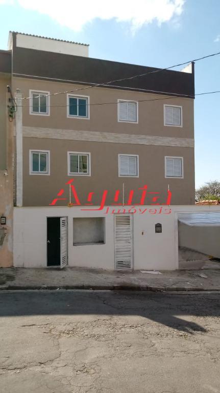 Apartamento residencial à venda, Vila Guaraciaba, Santo Andr