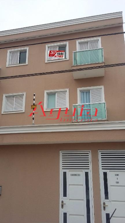 Apartamento residencial à venda, Campestre, Santo André.
