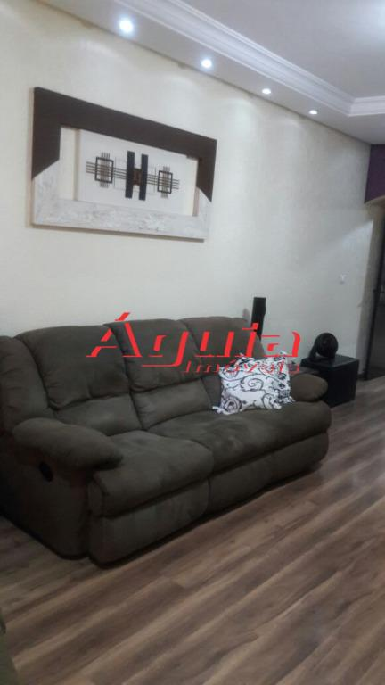 Sobrado residencial à venda, Jardim Ana Maria, Santo André - SO0892.