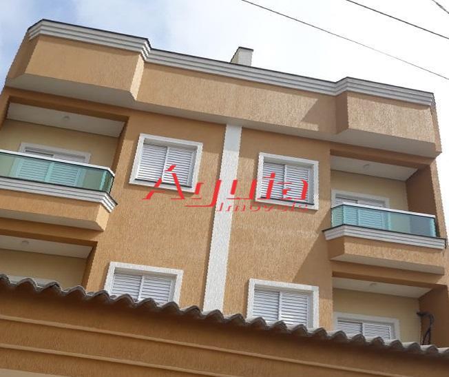 Cobertura residencial à venda, Vila Camilópolis, Santo André