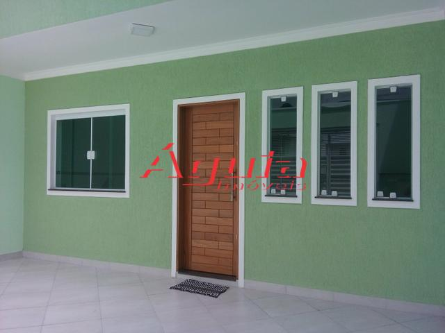 Sobrado residencial à venda, Vila Alto de Santo André, Santo André.