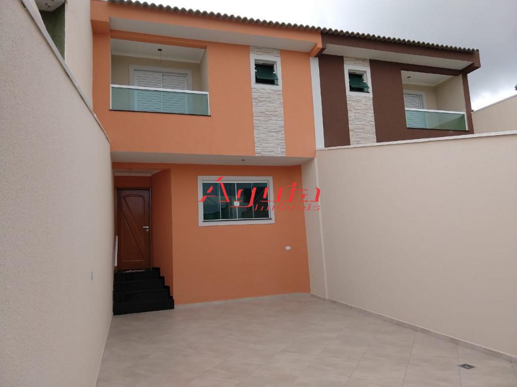 parque erasmo assunção - novo! sobrado à venda com 140 m². 3 dormitórios ( 3 suítes...