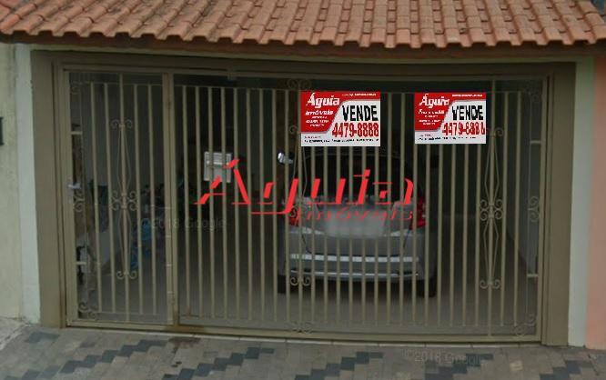 Casa térrea com 3 dormitórios à venda, 115 m² por R$ 539.000  Rua Itaparica, 209 - Vila Curuçá - Santo André/SP