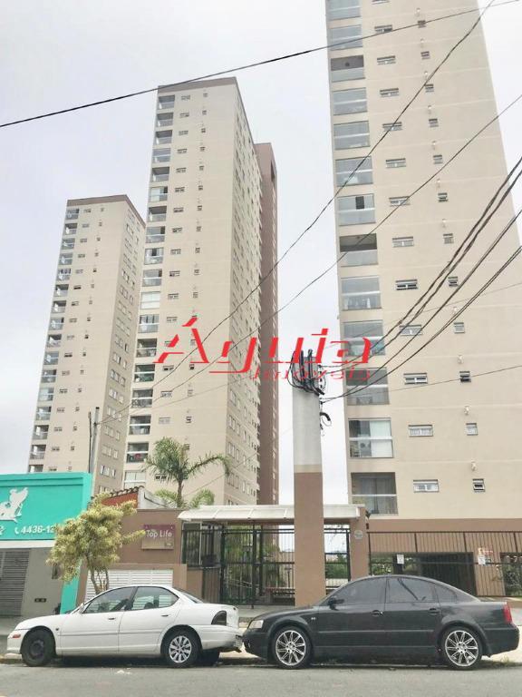 Apartamento com 3 dormitórios à venda, 60 m² por R$ 298.000 - Vila Assunção - Santo André/SP