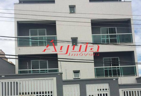 Cobertura com 2 dormitórios à venda, 102 m² por R$ 275.000 - Vila Príncipe de Gales - Santo André/SP