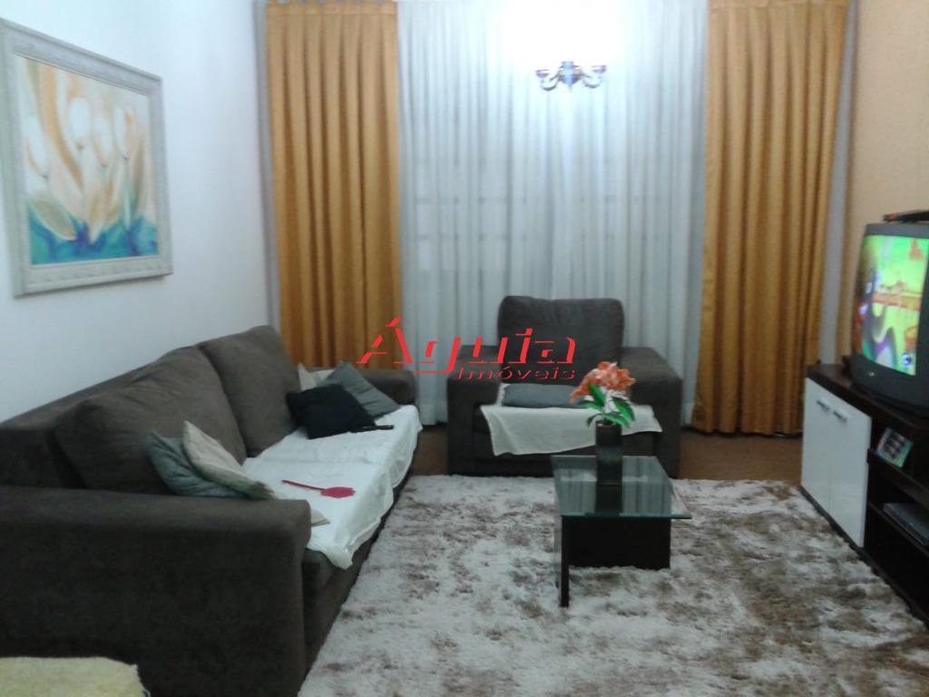 Sobrado com 3 dormitórios à venda, 177 m² por R$ 420.000 - Parque Capuava - Santo André/SP
