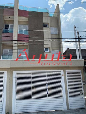 Cobertura com 2 dormitórios à venda, 50 m² por R$ 260.000 - Jardim Ana Maria - Santo André/SP