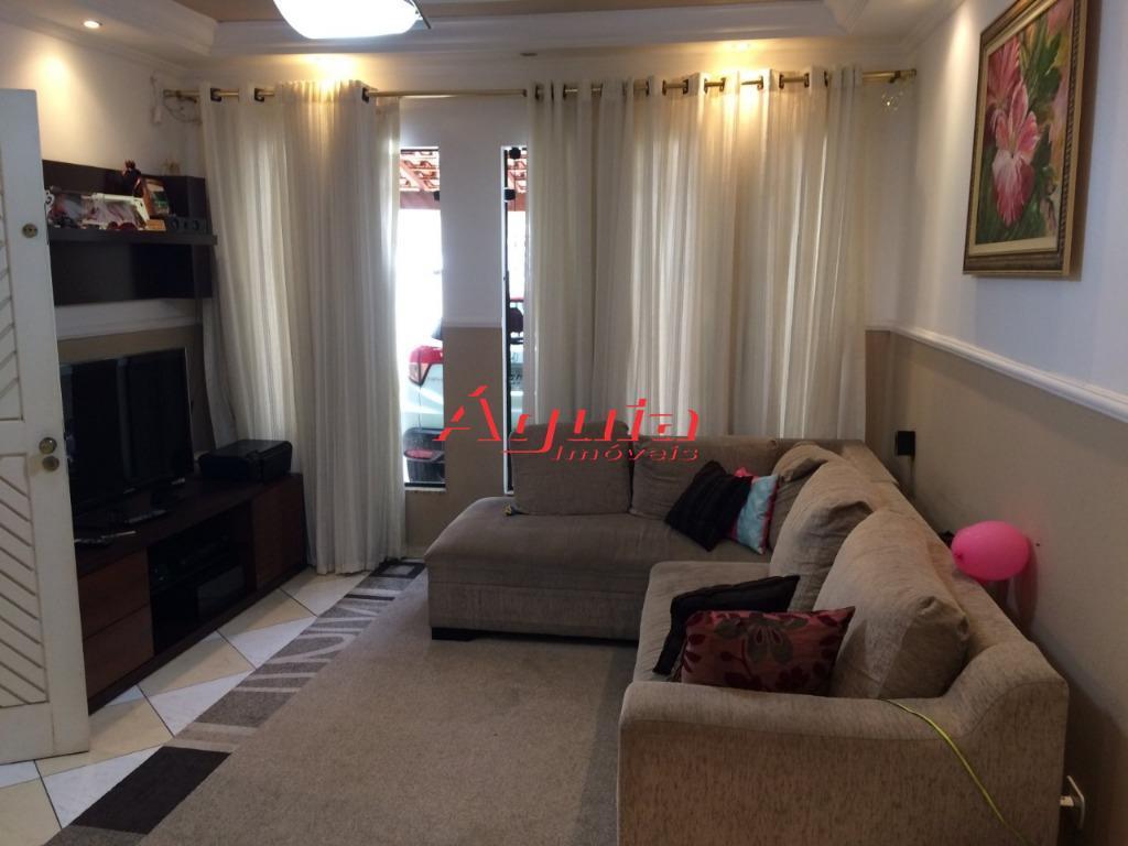 Sobrado com 3 dormitórios à venda, 150 m² por R$ 500.000 - Parque Oratório - Santo André/SP