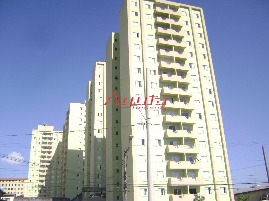 Apartamento com 2 dormitórios à venda, 72 m² por R$ 288.000 - Parque Oratório - Santo André/SP