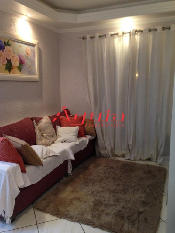 Apartamento com 3 dormitórios à venda, 76 m² por R$ 360.000 - Santa Teresinha - Santo André/SP