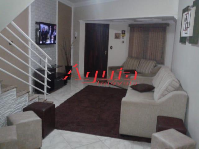 Sobrado com 3 dormitórios à venda, 180 m² por R$ 460.000 - Parque Novo Oratório - Santo André/SP