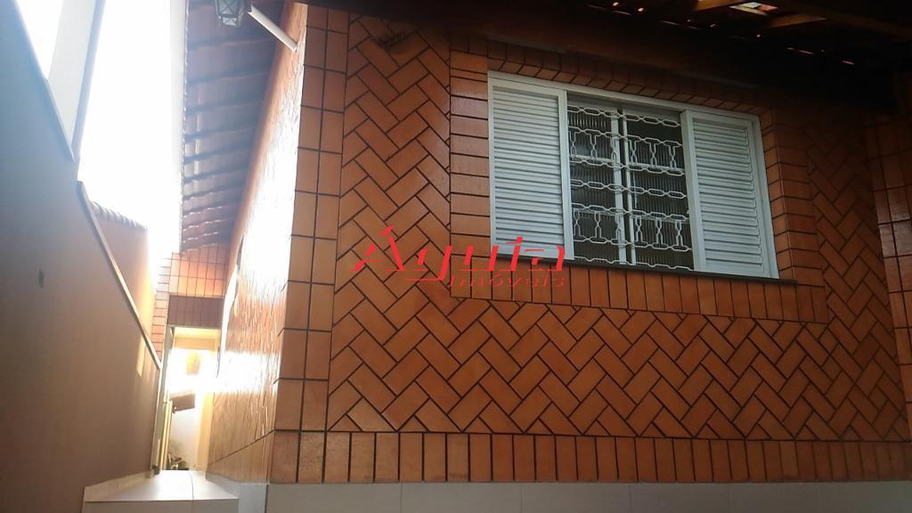 Casa com 3 dormitórios à venda, 147 m² por R$ 614.000 - Campestre - Santo André/SP