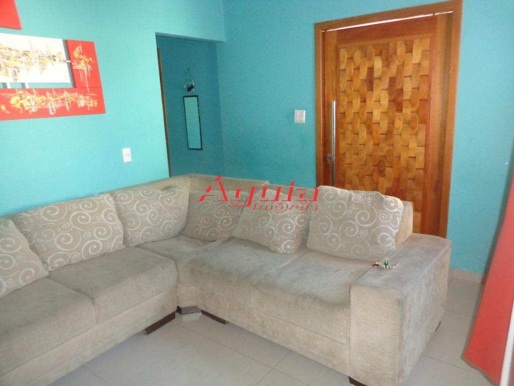 Casa com 3 dormitórios à venda, 76 m² por R$ 380.000 - Jardim Santo Alberto - Santo André/SP