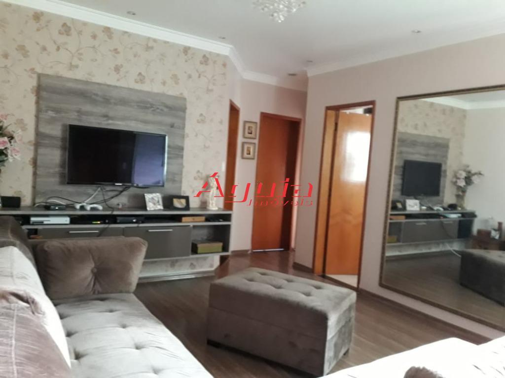 Cobertura com 3 dormitórios à venda, 72 m² por R$ 360.000 - Vila Lucinda - Santo André/SP