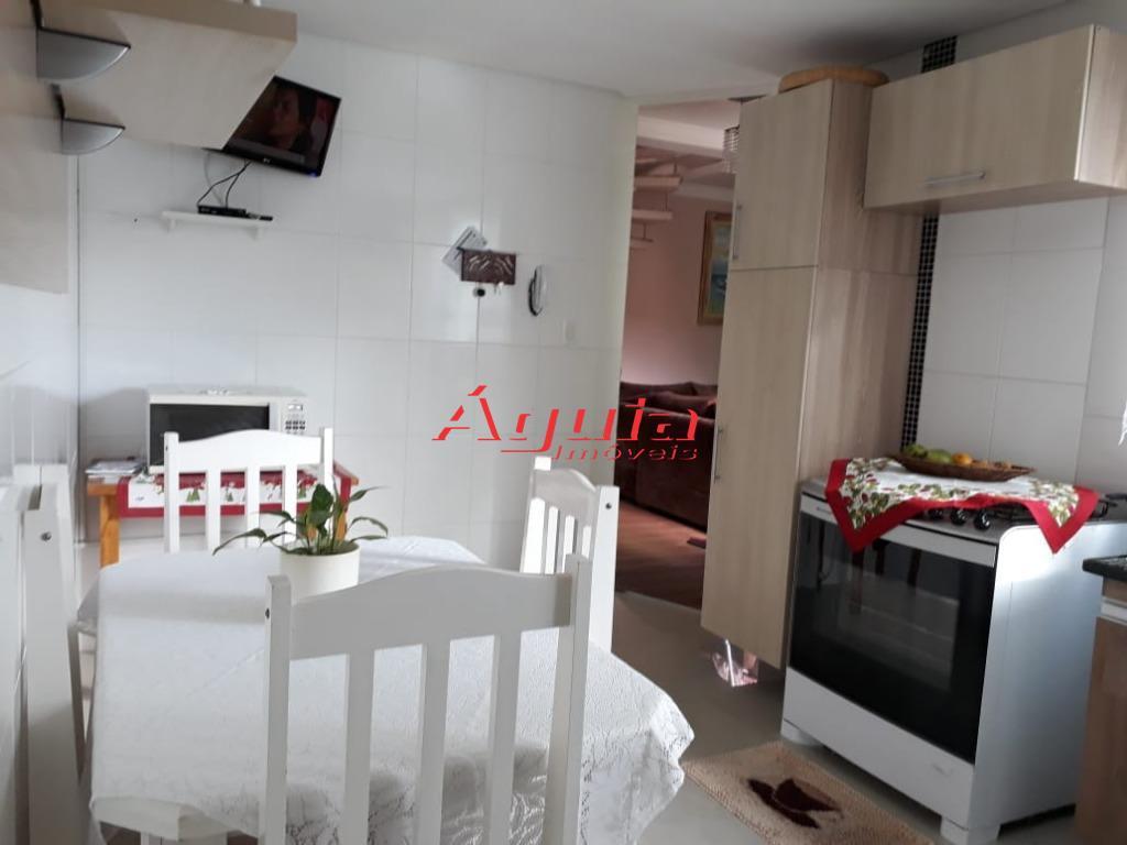 cobertura s/ condomínio toda mobiliada na vila lucinda / com 3 dormitórios (sendo 1 suíte com...