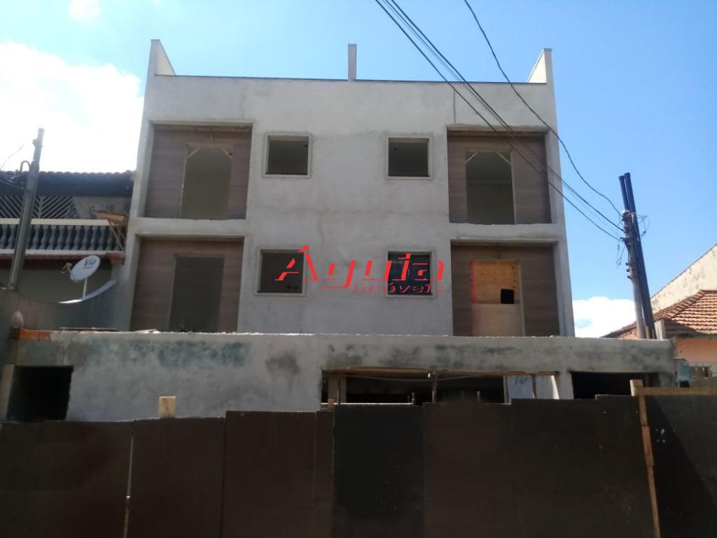 Apartamento com 2 dormitórios à venda, 38 m² por R$ 212.000 - Parque Erasmo Assunção - Santo André/SP