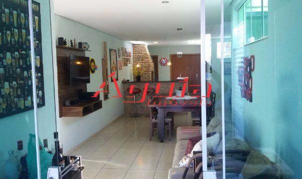 Cobertura com 3 dormitórios à venda, 75 m² por R$ 480.000 - Casa Branca - Santo André/SP