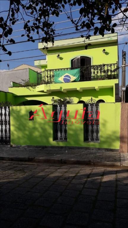 Sobrado com 4 dormitórios à venda, 250 m² por R$ 750.000 - Santa Teresinha - Santo André/SP