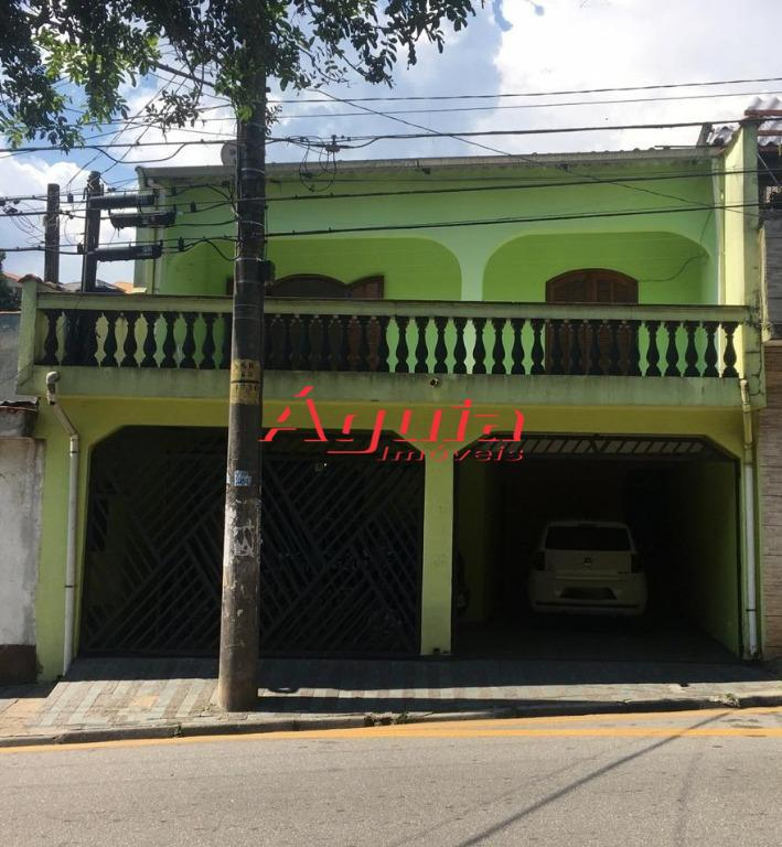 Sobrado com 3 dormitórios à venda, 122 m² por R$ 328.000 - Parque João Ramalho - Santo André/SP