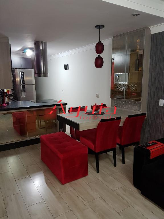 Casa com 2 dormitórios à venda, 116 m² por R$ 410.000 - Jardim Santo Alberto - Santo André/SP