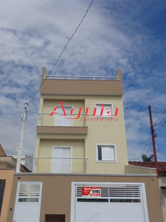 Apartamento com 3 dormitórios à venda, 67 m² por R$ 320.000 - Parque das Nações - Santo André/SP