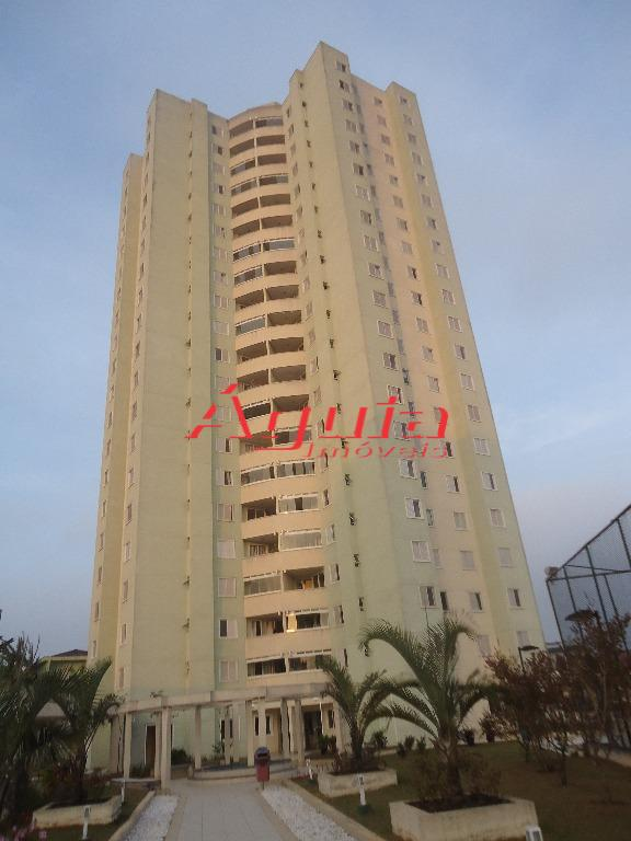 Apartamento com 3 dormitórios à venda, 72 m² por R$ 375.000 - Parque Jaçatuba - Santo André/SP