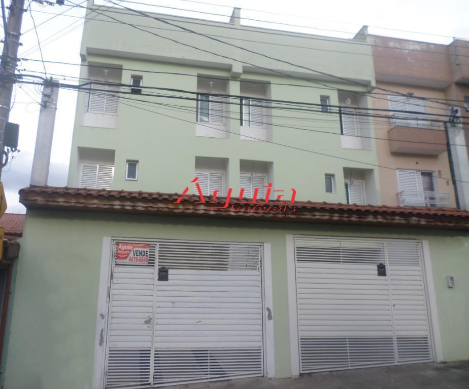 Cobertura com 2 dormitórios à venda, 50 m² por R$ 320.000 - Utinga - Santo André/SP