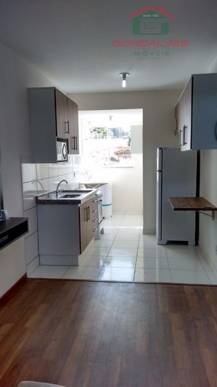 Apartamento  residencial à venda, Alto Castelani, Capivari.