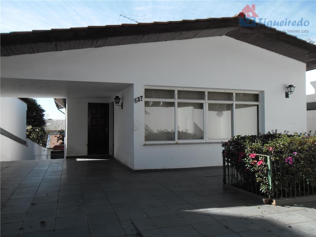 Casa residencial para venda e locação, Anhangabaú, Jundiaí - CA1317.