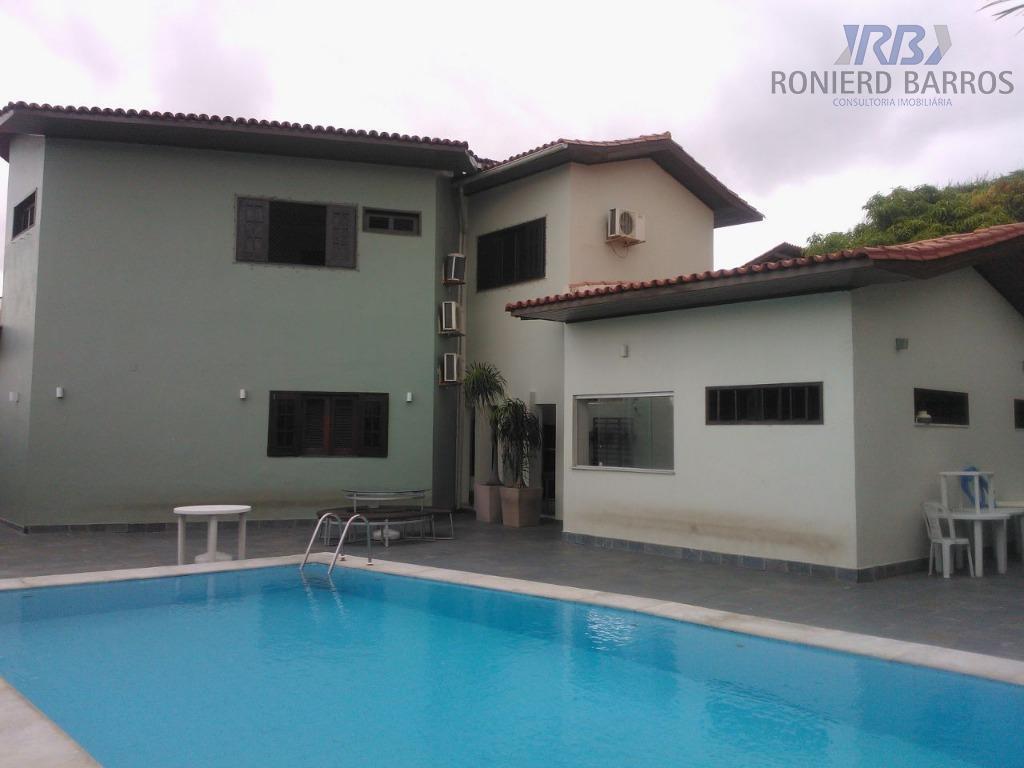 casa de alto padrão duplex, com ampla sala, lavabo, escritório, 6 suítes, varanda, cozinha ampla, área...