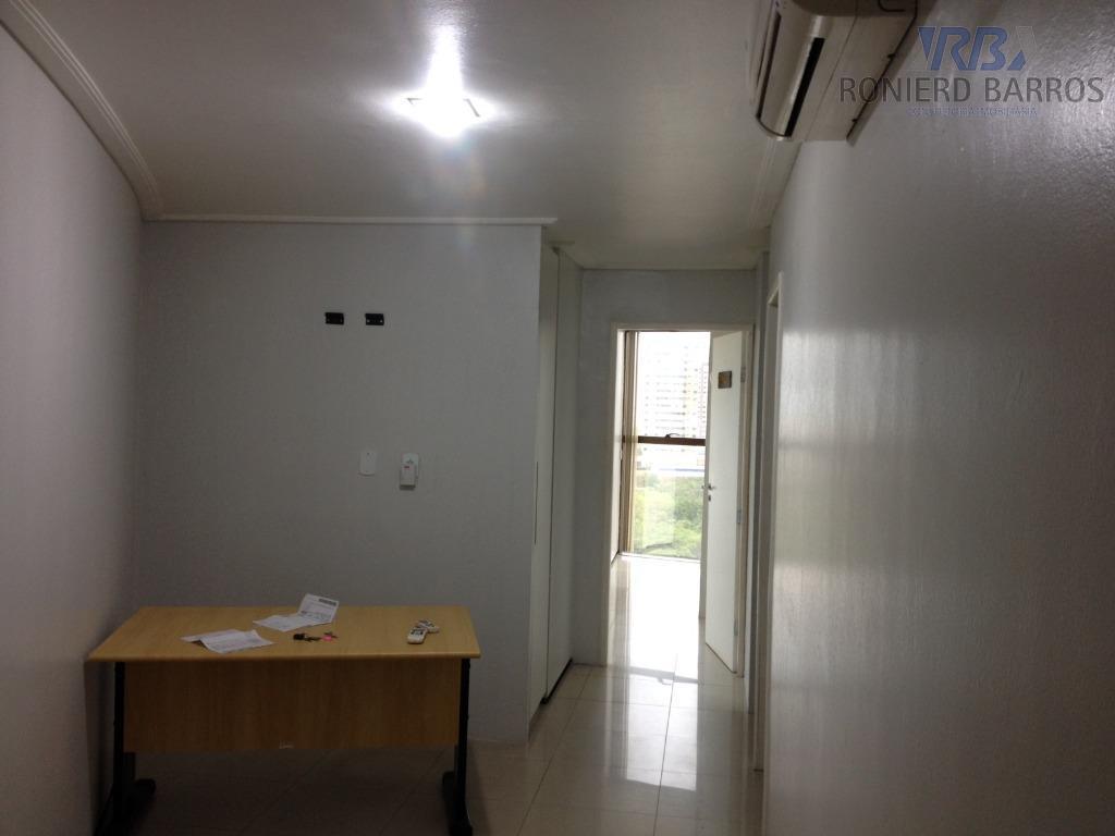 excelente sala comercial de 73m² com vaga de garagem e dividida em recepção, 4 salas internas,...