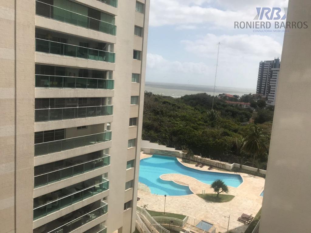 Apartamento com 3 dormitórios à venda, 142 m² por R$ 1.000.000 - Ponta da areia - São Luís/MA