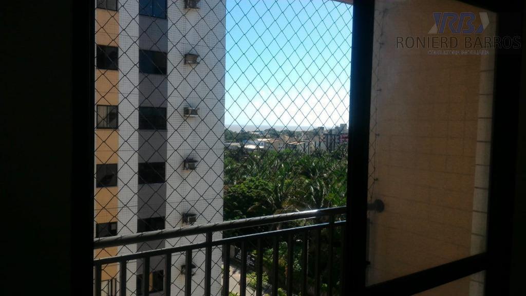Apartamento com 3 dormitórios sendo 1 suíte à venda, 85 m² por R$ 320.000 - Calhau - São Luís/MA