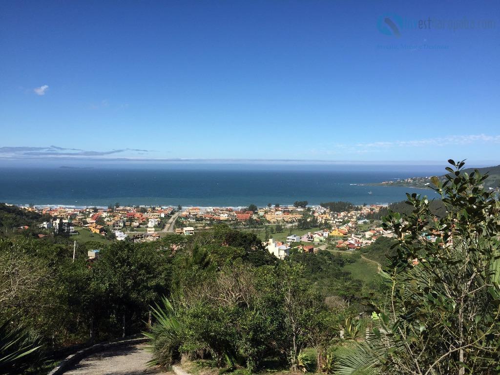 3.328m² - registro de imóveis belíssimo terreno com uma vista privilegiada para praia de garopaba. todo...