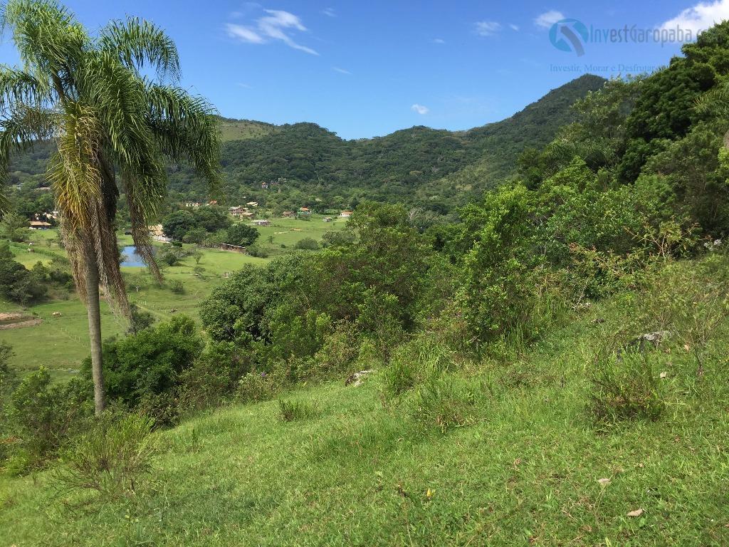magnífico terreno com mais de 04 hectares. linda vista para lagoa e para as montanhas. acesso...