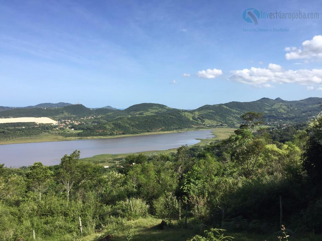 lindo terreno medindo 20.000m² com privilegiada vista para a praia do siriú, lagoa do macacú e...