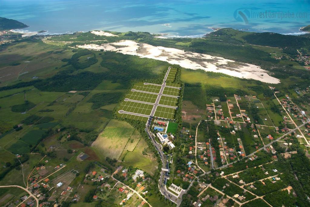 terreno dentro do condomínio rosa internacional, localizado a poucos minutos das praias do rosa e ouvidor...
