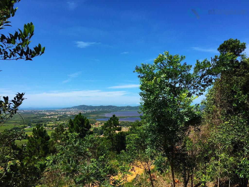 belíssimo terreno com vista espetacular para a lagoa! local com muita natureza, acesso fácil! viabilidade para...
