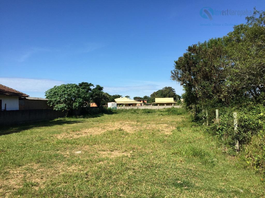 excelente terreno em frente a rodovia sc, possibilidade de construir algumas casas para aluguel, terreno todo...