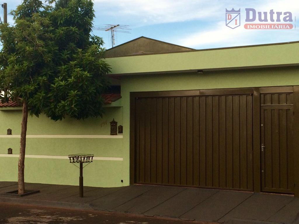 Casa residencial à venda, Cidade Nova, Jardinópolis - CA1048.