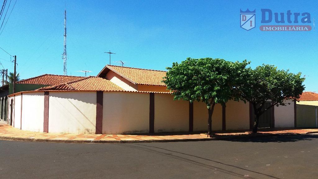 Casa residencial à venda, Vila Oliveira, Jardinópolis - CA1234.