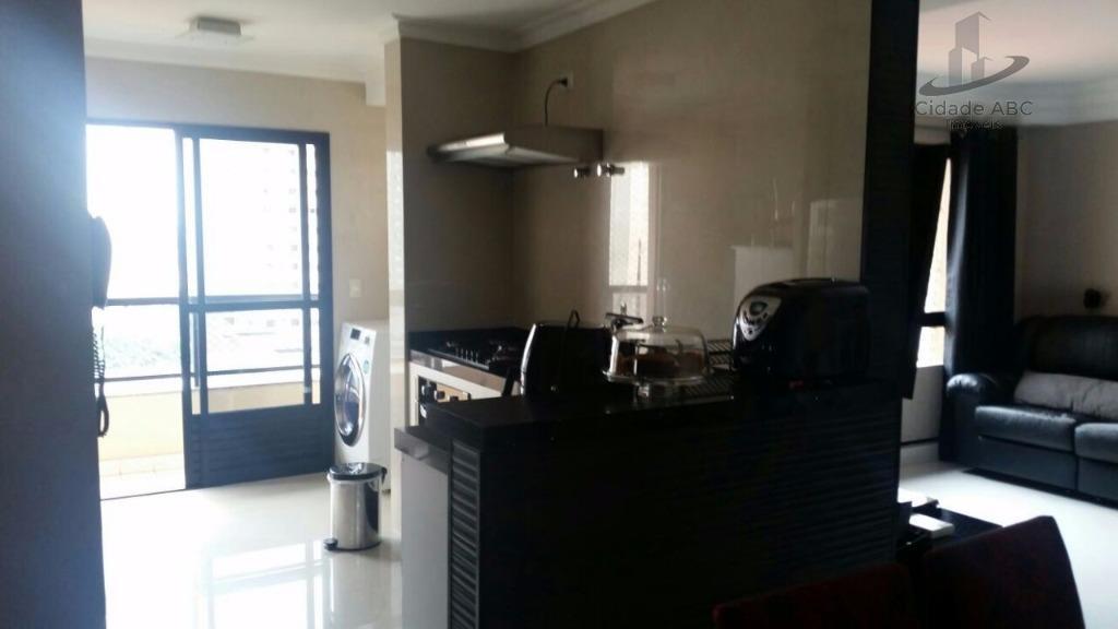 excelente apartamento recém reformado - face norte.localização privilegiada - vila gilda.área útil de 103m² com 3...