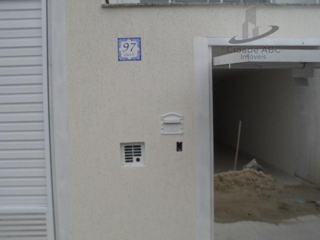 Sobrado residencial à venda, Vila Alice, Santo André.