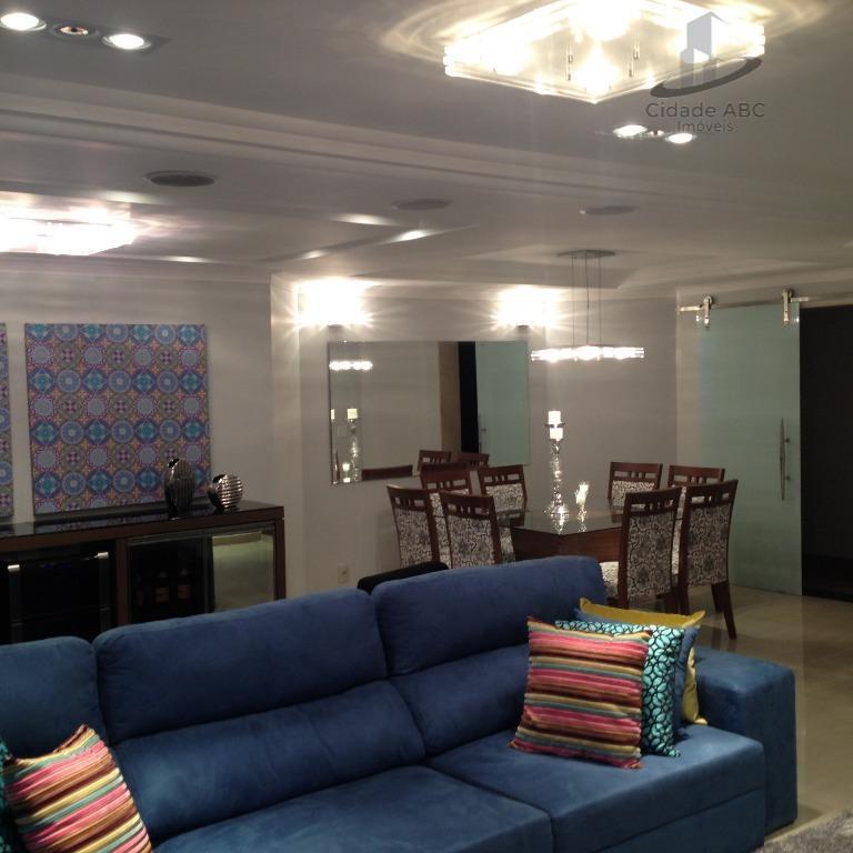 Lindíssimo Apartamento - Todo Mobiliado!!! Vila Bastos - Santo André.