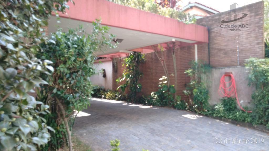 ampla casa - residencial ou comercial.excelente localização - santa maria - santo andré.área construída de 337m²...