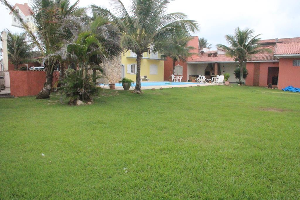 casa de 4 dormitórios - pode transformar em pousada.casa 2 andares , frente ao mar, piscina,...