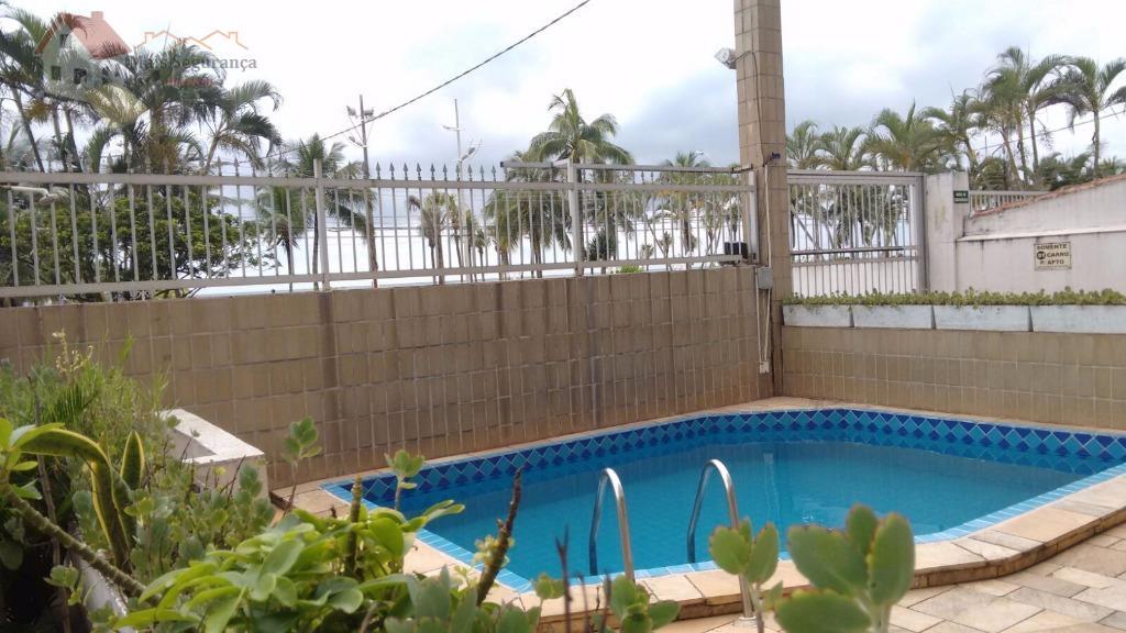 apartamento em frente ao mar, no bairro tupi, com muitos diferenciais....este apartamento está em um edifício...
